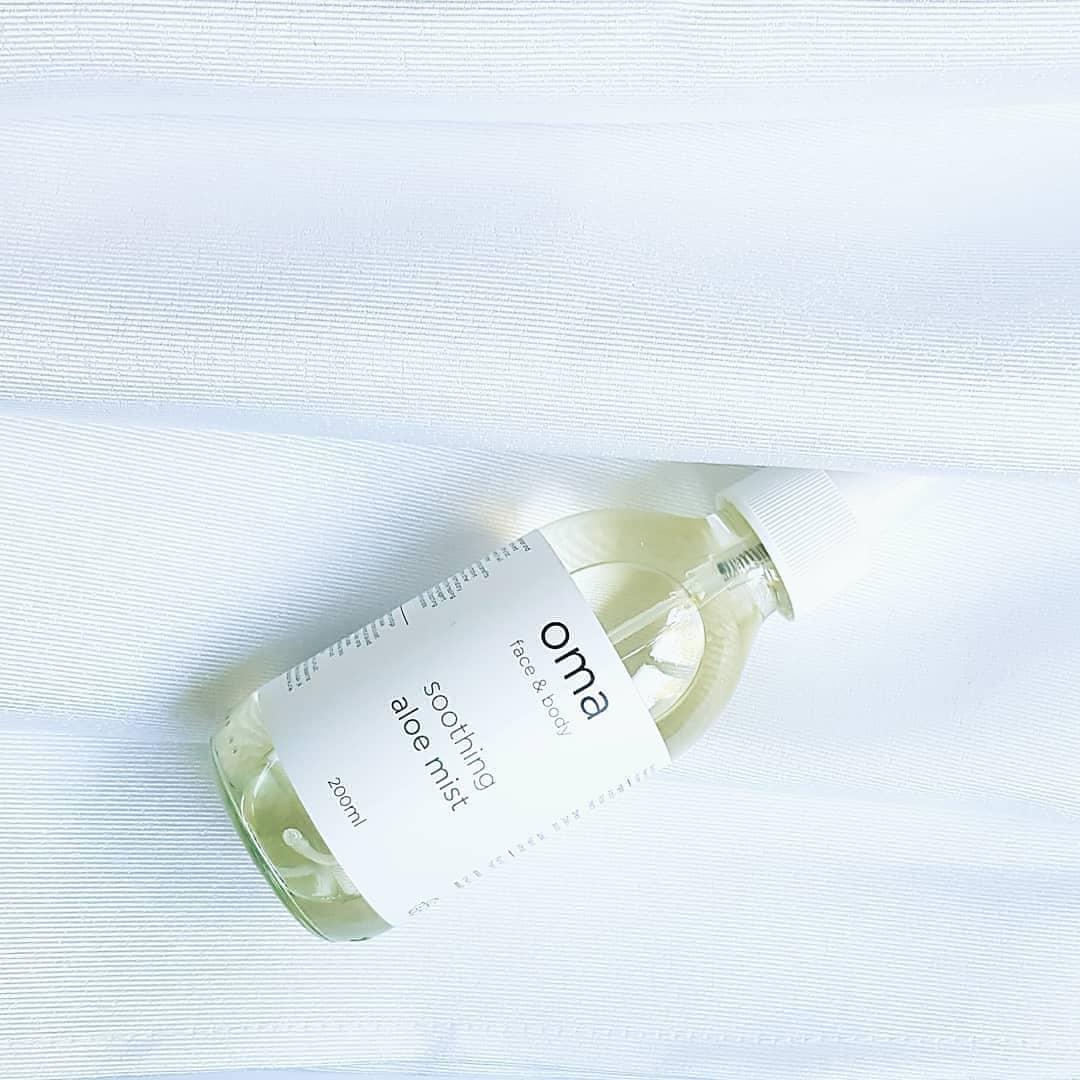 8b79896b91c Oma Soothing Aloe Mist (näole/kehale) 200ml | Pure Cosmetics Eesti