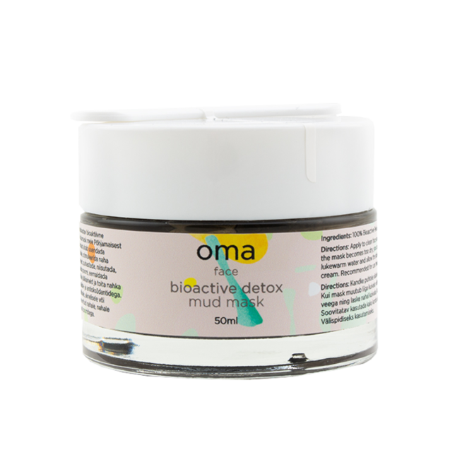eaa2a1f32e5 OMA Bioactive Detox Mud Mask 'Mine Metsa' 50ml | Pure Cosmetics Eesti